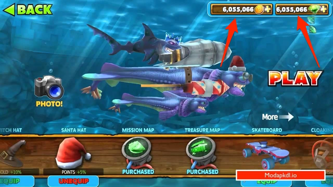 Hungry Shark Evolution mod download