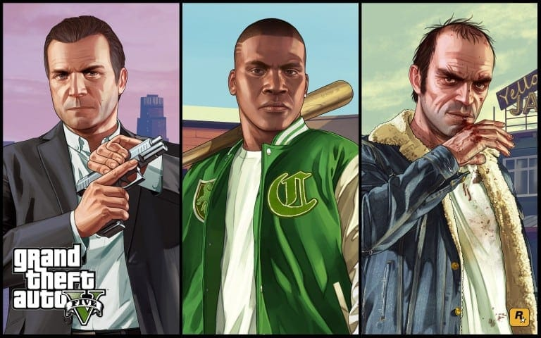 GTA 5 Mobile All Characters