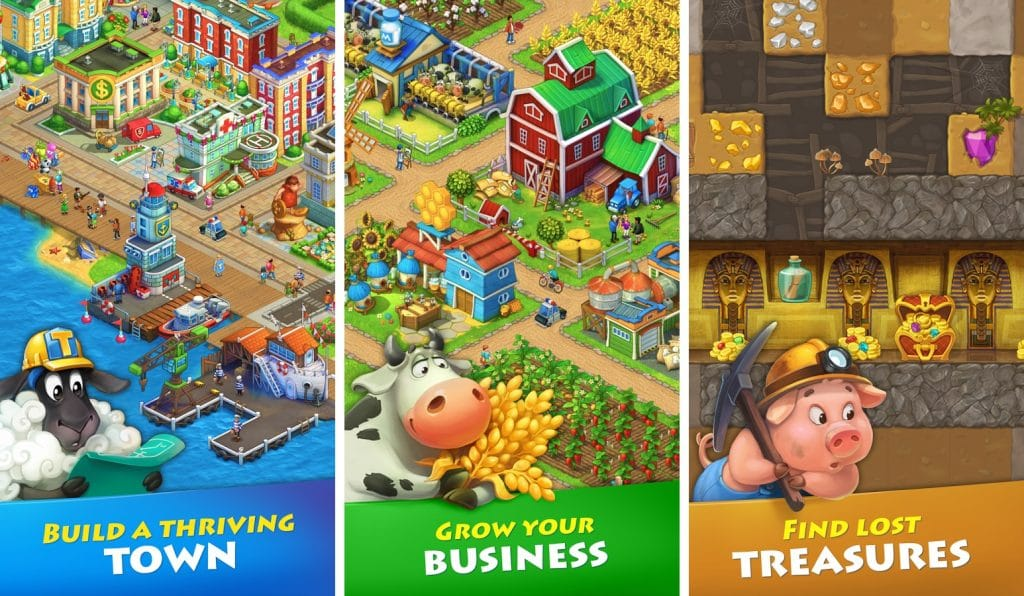 Township Mod APK features