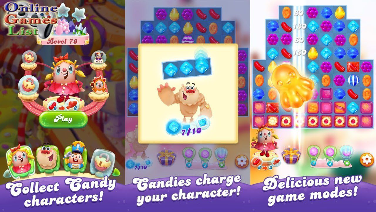Candy Crush Friends Saga hack mod