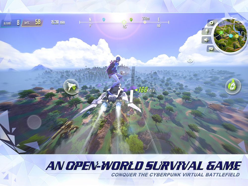 Cyber Hunter apk game features
