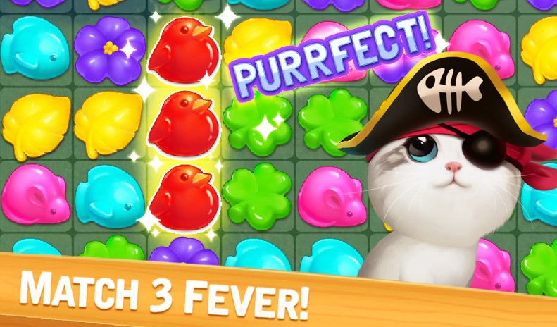 Meow Match Mod APK download gameplay