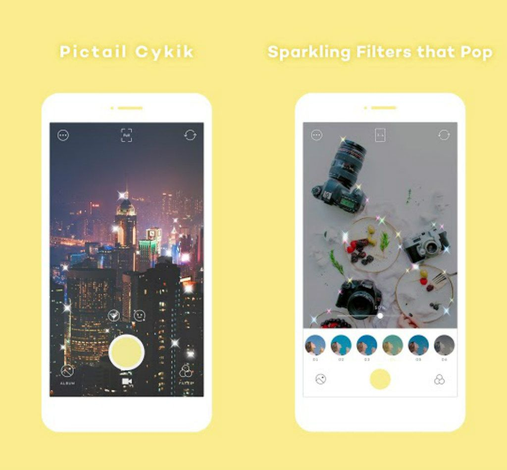 PICTAIL - Cykik apk features