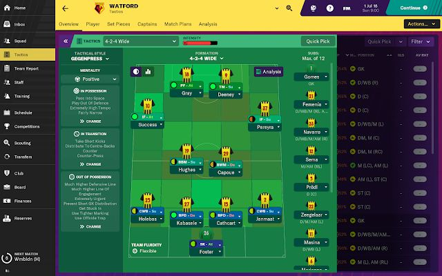 download Football Manager 2019 Touch apk