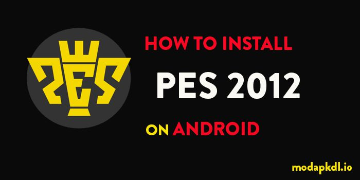 how to install pes 2012
