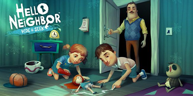 HELLO NEIGHBOR HIDE & SEEK game