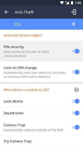 AVG AntiVirus 2019 for Android Security anti-thief