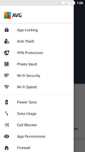 AVG AntiVirus Pro APK features