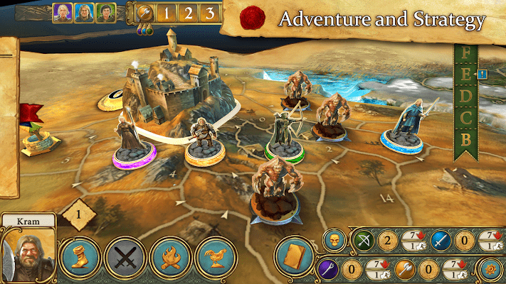 Legends of Andor – The King's Secret game for Android