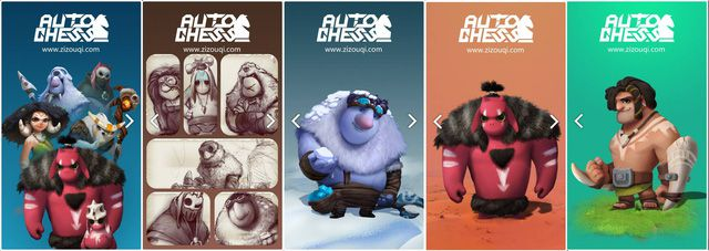 Auto Chess Mobile heroes