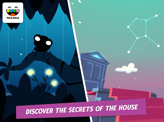 Toca Mystery House APK gameplay