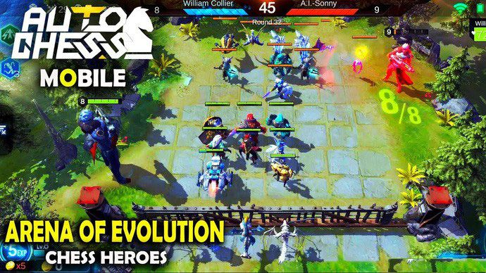 Arena of Evolution Chess Heroes