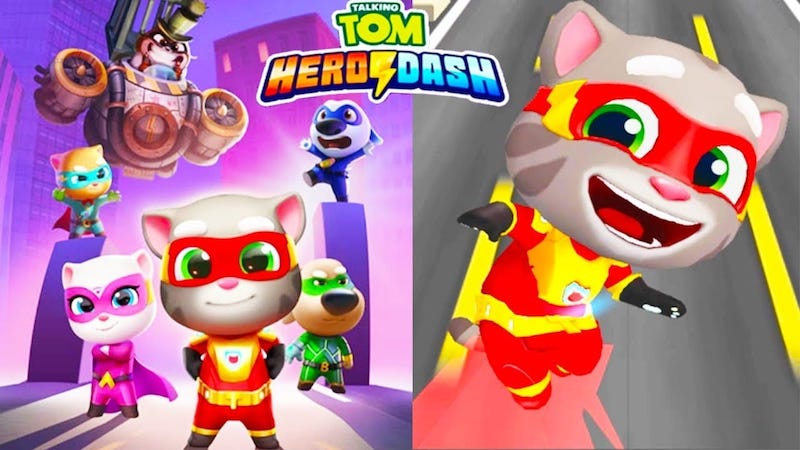 Talking Tom Hero Dash apk download