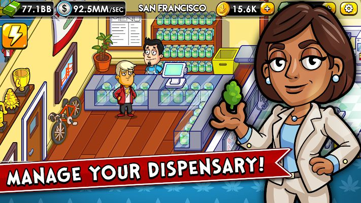 Weed Inc Idle Tycoon bussiness