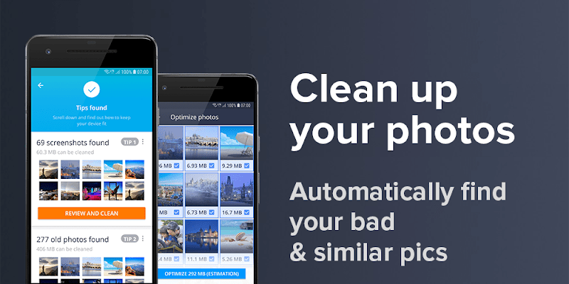 AVG Cleaner Pro clean up photos