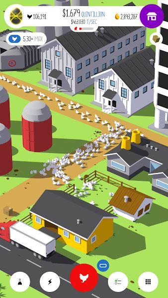 Egg, Inc. gameplay