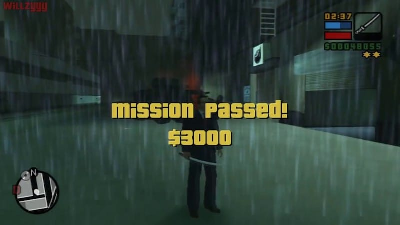 GTA- Liberty City Stories mission