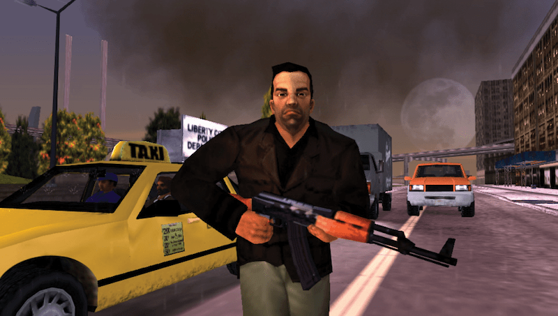 GTA- Liberty City Stories weapons