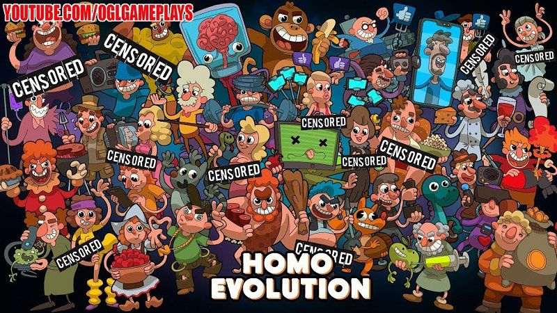Homo Evolution Human Origins Mod APK