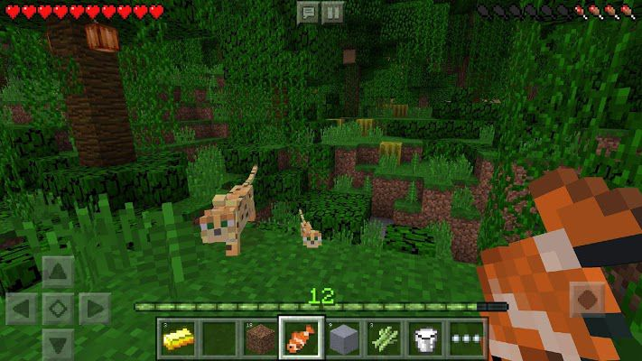 Minecraft PE mod apk gameplay