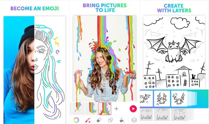 PicsArt Animator features