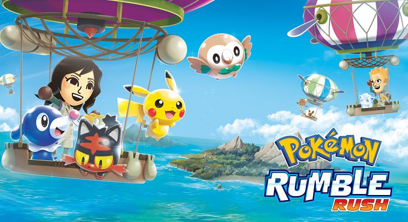 Pokémon Rumble Rush apk mod download