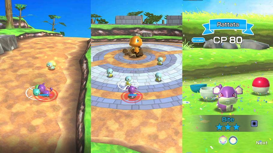 Pokémon Rumble Rush game features