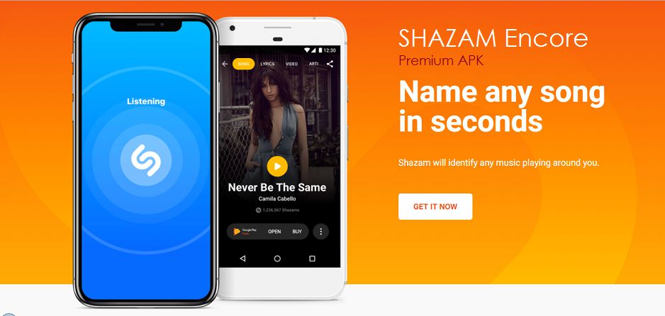 Shazam Encore apk download