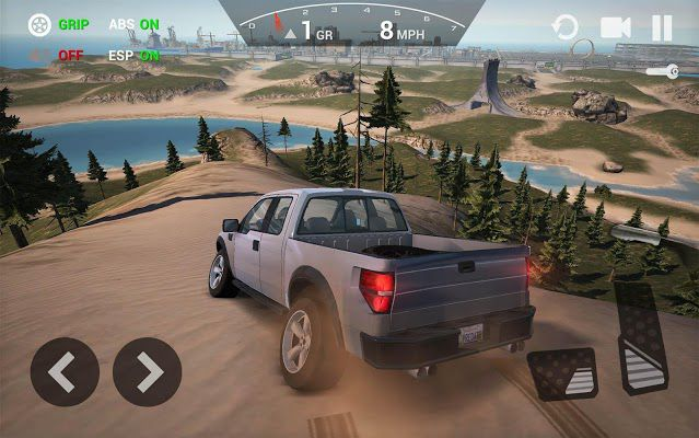 Ultimate Car Driving Simulator mod control