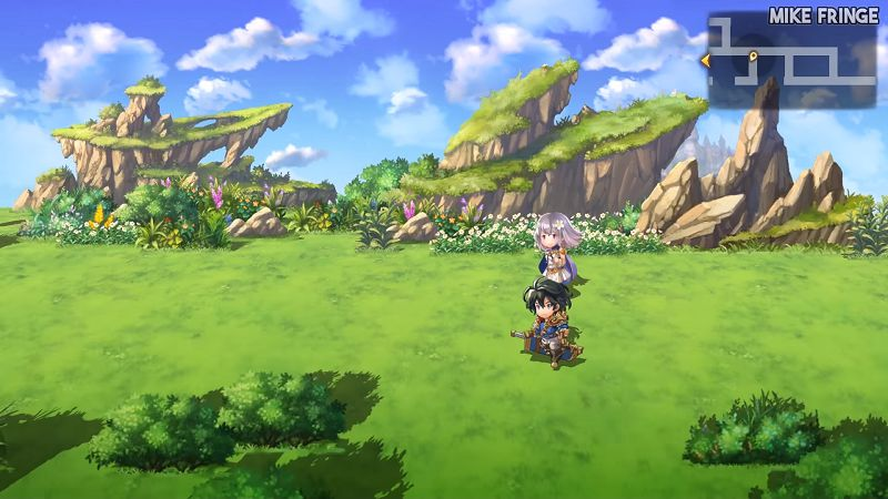 Another Eden Graphics and sound