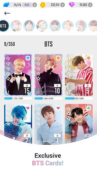 BTS WORLD APK manager your idol