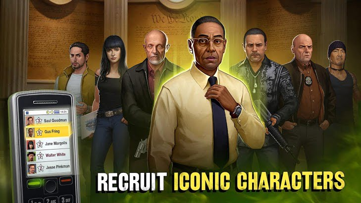Breaking Bad Criminal Elements MOD APK characters