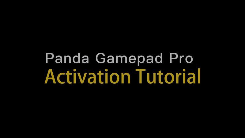 How to Install Panda Gamepad Pro