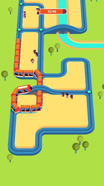 Train Taxi Gameplay