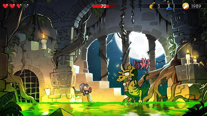 Wonder Boy The Dragon's Trap story