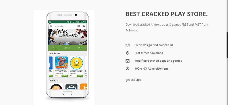 ACMarket APK features