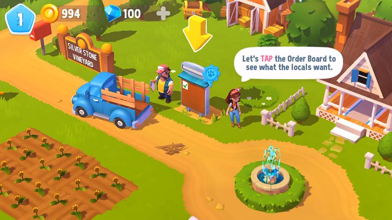 FarmVille 3 - Animals complete the orders