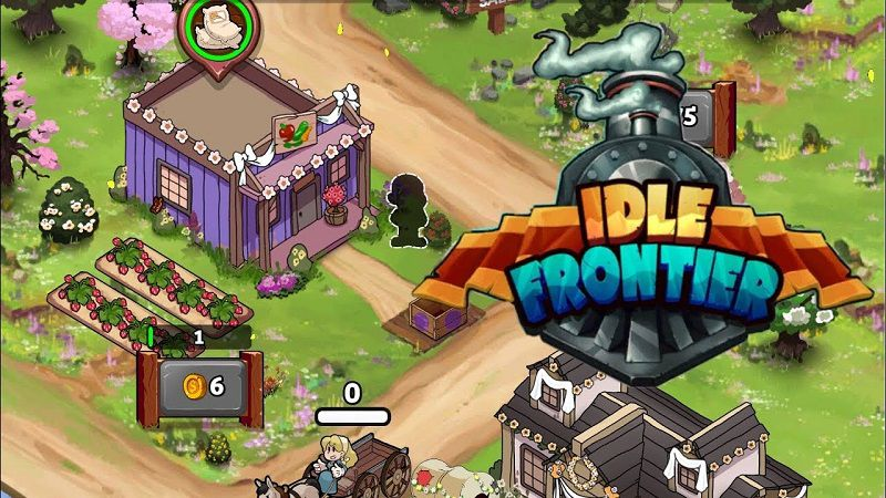 IDLE FRONTIER TAP TAP TOWN TYCOON mod apk
