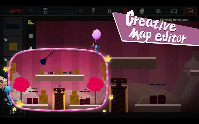 Stick Fight The Game Mobile create maps