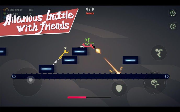 Stick Fight The Game Mobile gameplay
