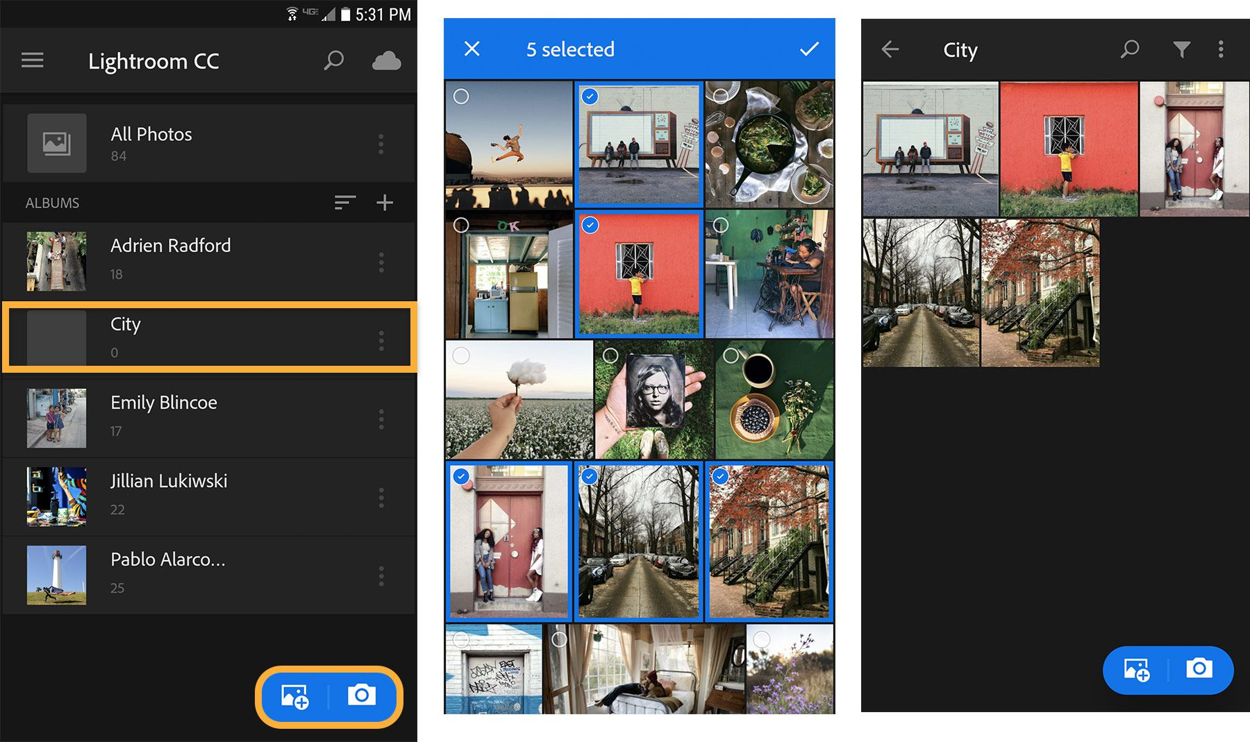 Adobe Lightroom mobile apk download