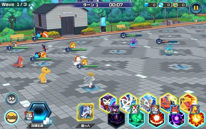 Digimon ReArise gameplay