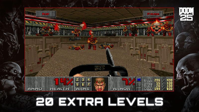 Doom II features