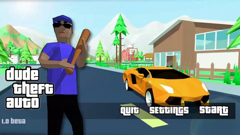 Dude theft wars mod apk download