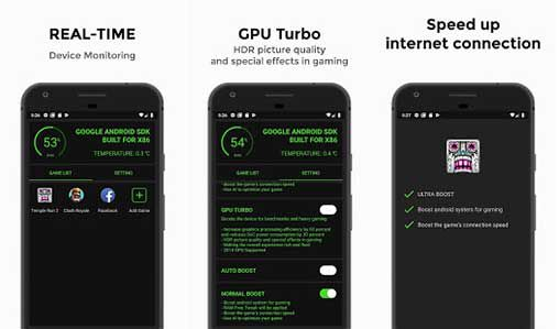Game Booster 4x Faster Plus features