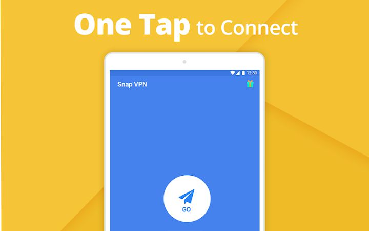 Snap VPN VIP one tap to connect