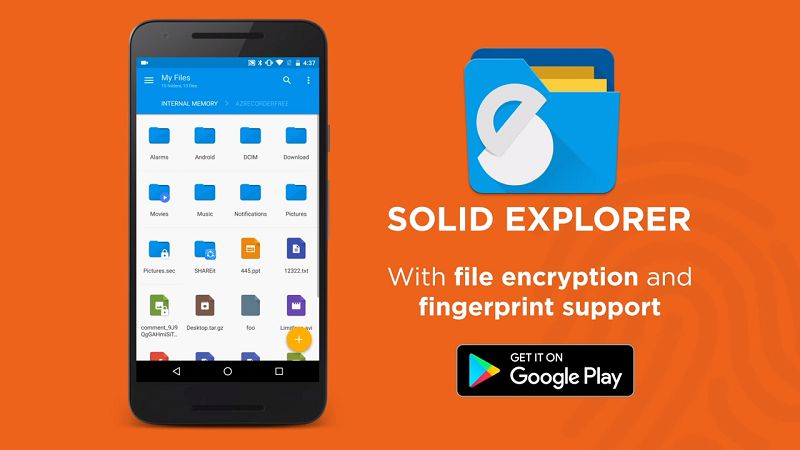 Solid Explorer File Manager Pro APK install