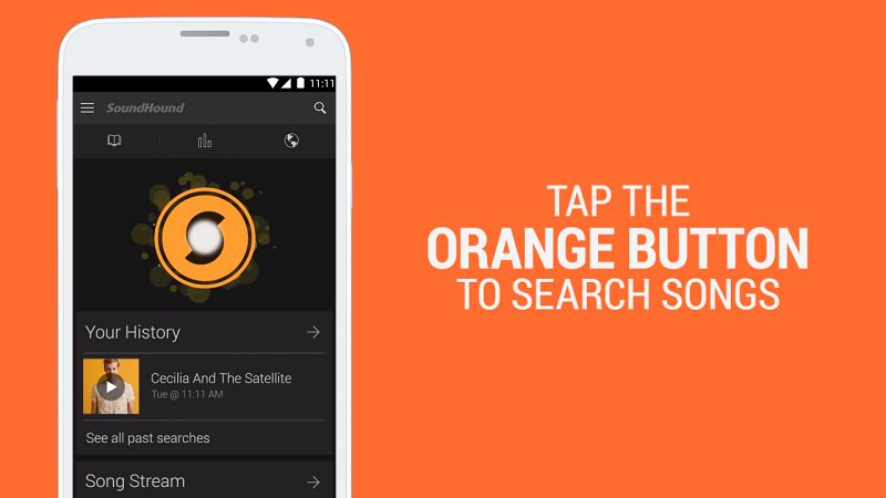 SoundHound to find any songs