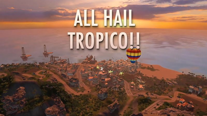 Tropico for Android Gameplay