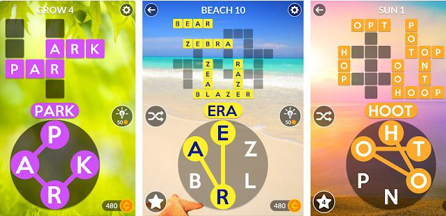 Wordscapes MOD APK Gameplay